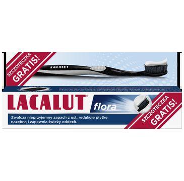 Lacalut Pasta do zębów Flora 75 ml + szczoteczka (1 szt.)