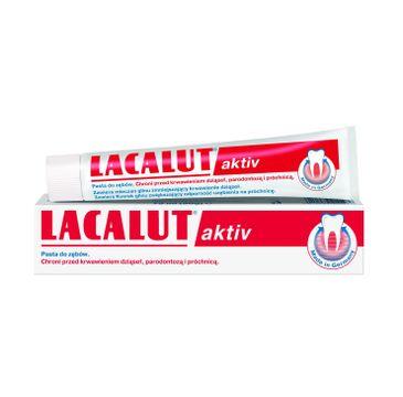 Lacalut Activ pasta do zębów paradontoza 75 ml