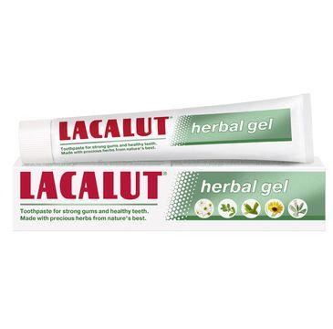 Lacalut Herbal Gel pasta do zębów 75 ml