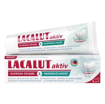 Lacalut Pasta do zębów Activ&Sensitiwe ochrona dziąseł&nadwrażliwość (75 ml)