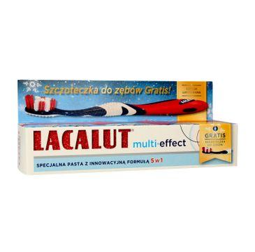 Lacalut Pasta do zębów Multi-Effect 5w1 75ml + szczoteczka 1 op.
