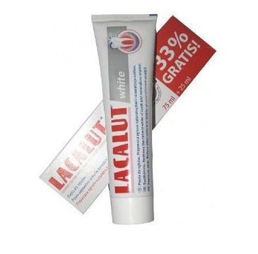 Lacalut pasta do zębów wybielająco naprawcza 75 ml + 33%
