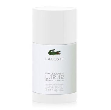 Lacoste E L.12.12 Blanc Pour Homme dezodorant sztyft 75ml
