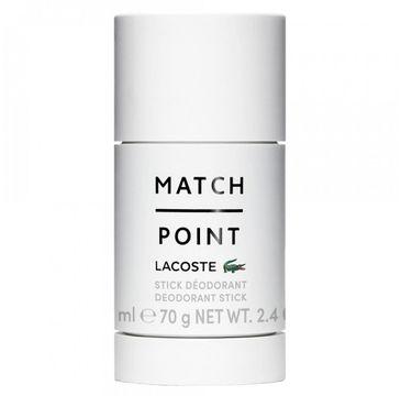 Lacoste – Match Point dezodorant sztyft (75 ml)