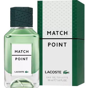 Lacoste – Match Point woda toaletowa spray (50 ml)