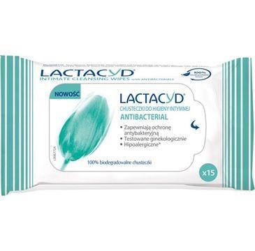 Lactacyd Antibacterial chusteczki do higieny intymnej  1 op.- 15 szt.