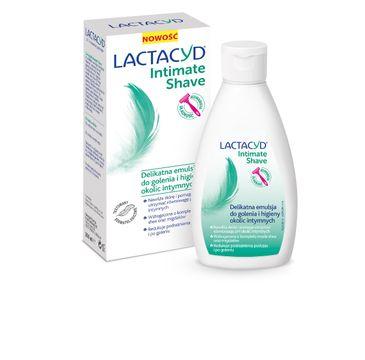 Lactacyd Intimate Shave Delikatna Emulsja do golenia i higieny okolic intymnych  200ml