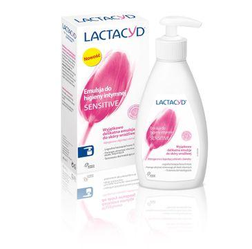 Lactacyd Sensitive emulsja do higieny intymnej z pompką 200 ml