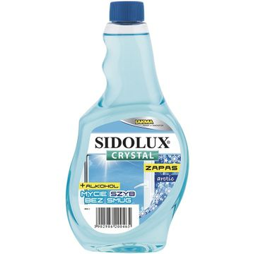Sidolux Crystal PÅ'yn do mycia szyb Arctic - zapas (500 ml)