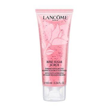 Lancome Rose Sugar Scrub – delikatnie złuszczający scrub Sugar Grains & Rose Water (100 ml)