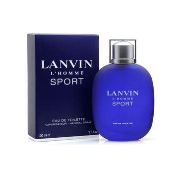 Lanvin L'Homme Sport woda toaletowa spray 100ml