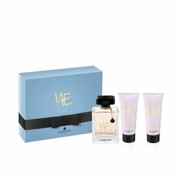 Lanvin Me Zestaw woda prezentowy perfumowana spray 80 ml + balsam do ciała 100 ml + żel pod prysznic 100 ml
