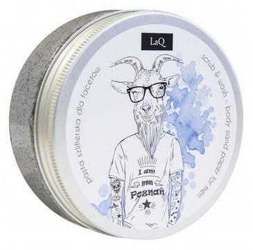 LaQ Body Scrub&Wash Peeling myjący do ciała dla facetów 200 ml