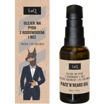 LaQ Doberman olejek przed i po goleniu (30 ml)