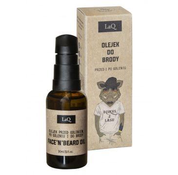 LaQ Dzikus z Lasu olejek do brody przed i po goleniu (30 ml)