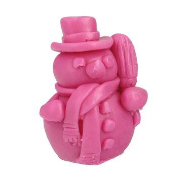 LaQ Happy Soaps mydełko glicerynowe Bałwanek Różowy (50 g)