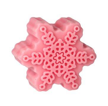 LaQ Happy Soaps mydełko glicerynowe Różowa Śnieżynka (90 g)