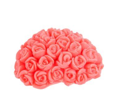 LaQ Happy Soaps mydełko glicerynowe Serce w Różyczki (40 g)