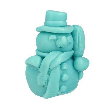 LaQ Happy Soaps Niebieski Bałwanek naturalne mydło glicerynowe Owocowy (50 g)