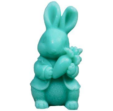 LaQ Happy Soaps Zielony Królik z Marchewką naturalne mydło glicerynowe Owocowe (30 g)