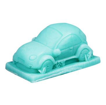 LaQ Happy Soaps Pan Samochodzik mydło glicerynowe zielone (60 g)