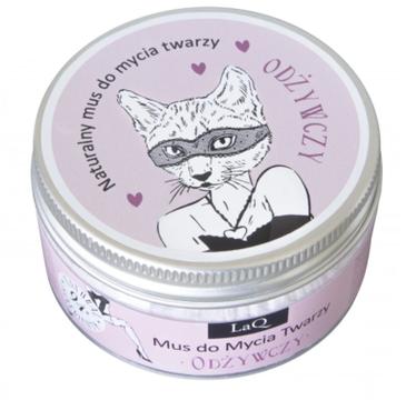 LaQ – Naturalny mus do mycia twarzy odżywczy Kocica (100ml)