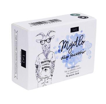 LaQ mydło dla facetów (z węglem aktywnym 85 ml)
