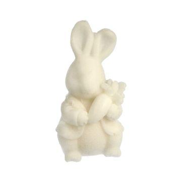 LaQ mydło glicerynowe Królik z marchewką - biały (30 +/-3% g)