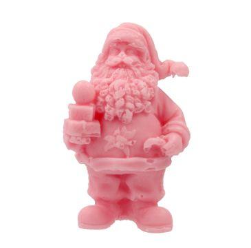 LaQ mydło glicerynowe Święty Mikołaj z prezentami różowy (50 g)