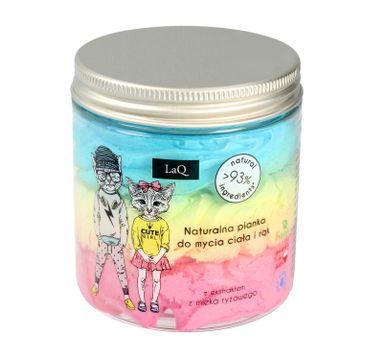 LaQ – naturalna pianka do mycia ciała i rąk dla dzieci (250 ml)