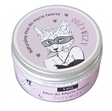 LaQ Naturalny mus do mycia twarzy odżywczy Kocica (100ml)