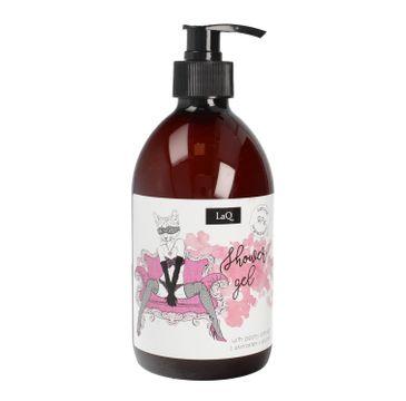 LaQ Shower Gel – żel pod prysznic dla kobiet – Piwonia (500 ml)