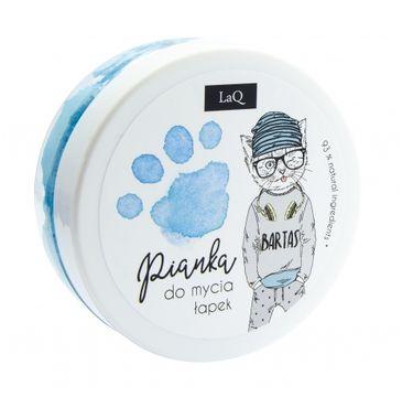 LaQ – pianka do mycia łapek niebieska (1 szt.)