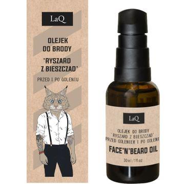 LaQ Ryś Olejek po goleniu i do brody (30 ml)