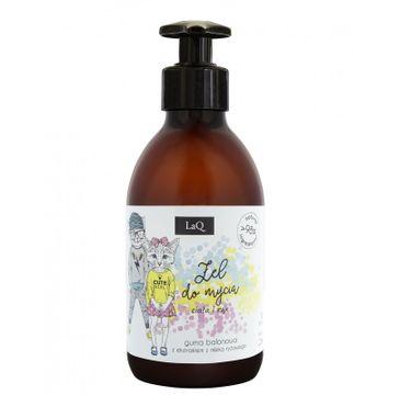 LaQ żel do mycia ciała i rąk dla dzieci o zapachu gumy balonowej (300 ml)