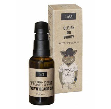 LaQ Dzikus z Lasu – olejek do brody przed i po goleniu (30 ml)