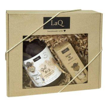 LaQ Dzikus z Lasu – zestaw kosmetyków dla mężczyzn – żel pod prysznic (500 ml) + olejek do brody (30 ml
