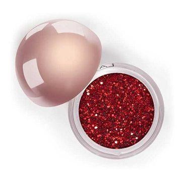 LASplash Crystallized Glitter sypki cień do powiek Bloody Mary 3.5g