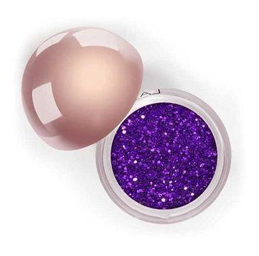 LASplash Crystallized Glitter sypki cień do powiek Purple Rain 3.5g