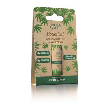 Laura Conti – Botanical balsam do ust nawilżający z olejem konopnym (8.3 g0