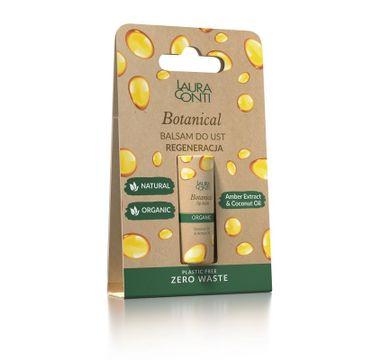 Laura Conti – Botanical balsam do ust regenerujący z olejem bursztynowym (8.3 g)