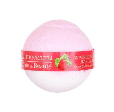 Le Cafe de Beauty musująca kula do kąpieli sorbet truskawkowy 120 g