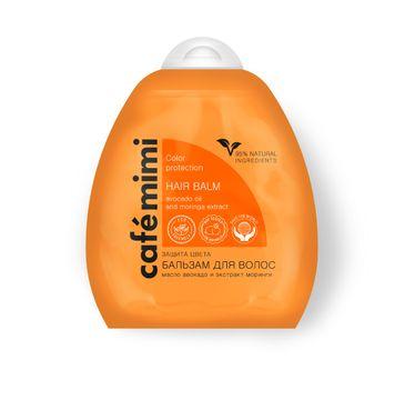 Cafe Mimi balsam do włosów ochrona koloru i blask 250 ml