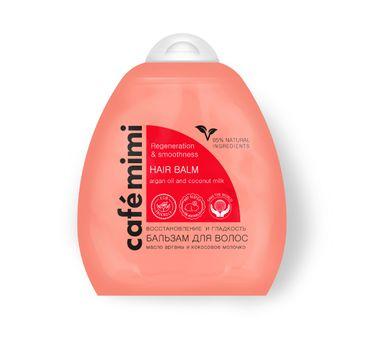 Cafe Mimi balsam do włosów regeneracja i gładkość 250 ml