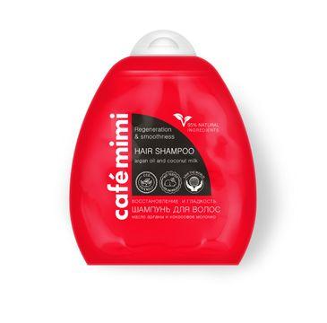 Cafe Mimi szampon do włosów regeneracja i gładkość 250 ml