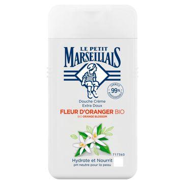 Le Petit Marseillais Kremowy Żel pod prysznic BIO Kwiat Pomarańczy (250 ml)