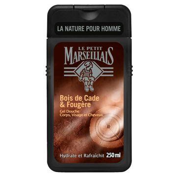 Le Petit Marseillais Men żel pod prysznic 3w1 Drzewo Cade 250 ml