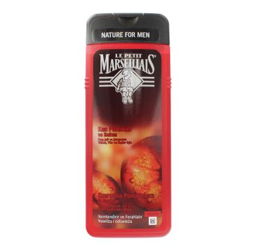 Le Petit Marseillais Nature For Men żel pod prysznic 3w1 Czerwona Pomarańcza & Szafran 400ml
