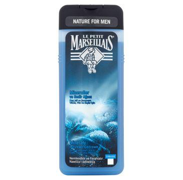 Le Petit Marseillais Nature For Men żel pod prysznic 3w1 Minerały & Drzewo Cedrowe 400ml