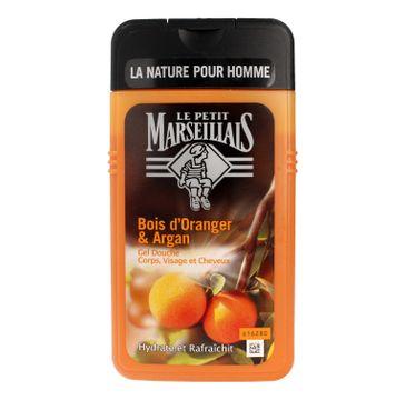 Le Petit Marseillais – Żel pod prysznic 3w1 dla mężczyzn Drzewo Pomarańczowe & Olejek Arganowy (250 ml)